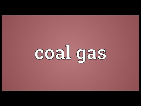 Coal gas Meaning