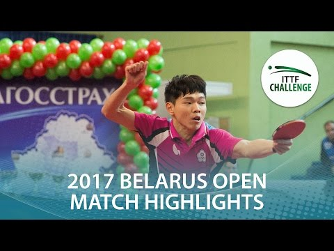 2017 Belarus Open Highlights: Vladimir Samsonov vs Sun Chia-Hung (1/2)