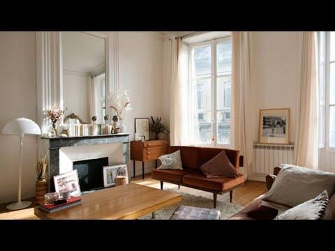 Retro Modernism • Romantic Decor • Paris Apartment   🍍 Interior Design