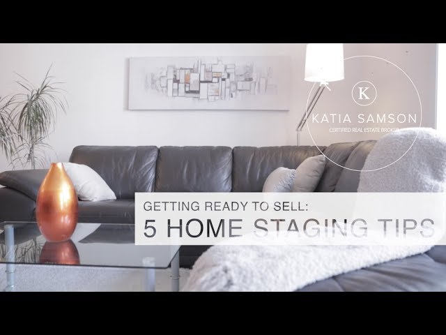 5 simple Home Staging tips to wow buyers