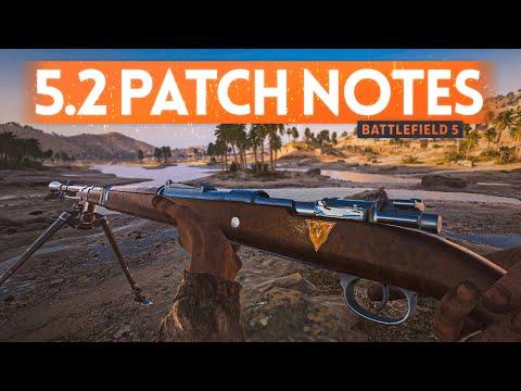 TTK WEAPON BALANCE Patch Notes 🔥 Battlefield 5 Update 5.2