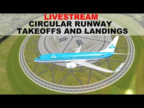 [FSX:SE] CIRCULAR RUNWAY TAKEOFF AND LANDING | B738 | LIVESTREAM | JOINFS