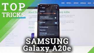 TOP TRICKS SAMSUNG Galaxy A20e - Super Features / Best Apps