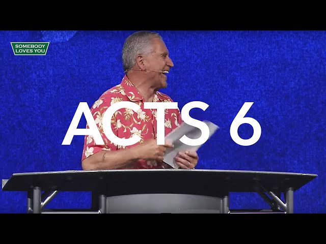 Acts 6 // Wednesday Night Service