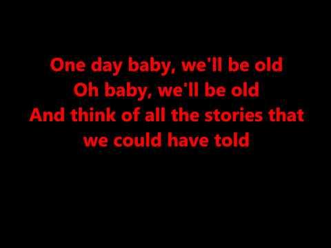 One day/Reckoning Song - Asaf Avidan lyrics (Wankelmut Remix)