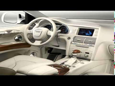 Audi q7 interieur 2015 innenraum auf der ces vorgestellt for Interieur q7