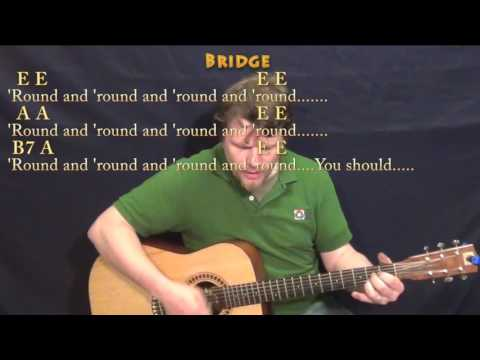 The Twist (Chubby Checker) Guitar Cover Lesson with Chords/Lyrics - Munson