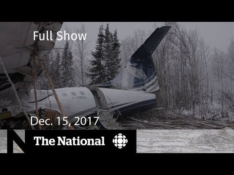 The National for Friday December 15, 2017 - Apotex founder, RCMP, Trump & FBI