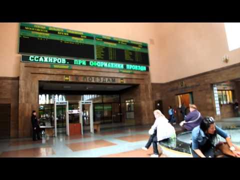 Калининград Южный вокзал внутри