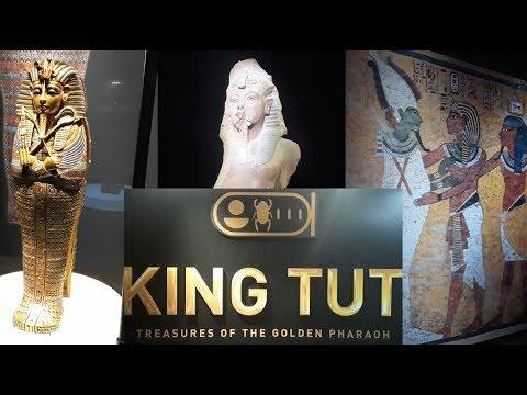 King Tut: Treasures of the Golden Pharaoh exhibit (California Science Center)