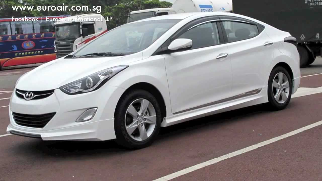 Hyundai Elantra Body Kit By Euroair International Llp