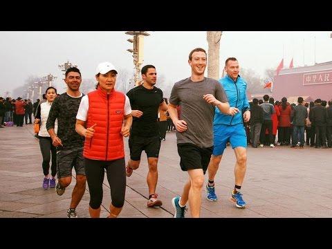 Mark Zuckerberg's Beijing Run Causes Controversy