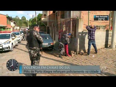 Grávida de oito meses é executada por criminosos no Rio Grande do Sul | SBT Brasil (04/08/18)