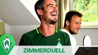 Zimmerduell: Fin Bartels & Philipp Bargfrede | SV Werder Bremen
