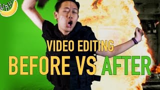 Video Editing: Before VS After
