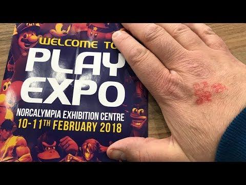 Play Expo Retro Game Fair Blackpool February 2018