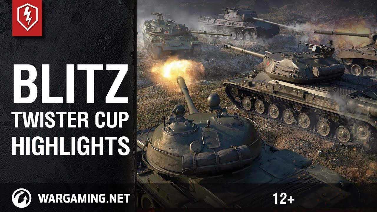 World of Tanks Blitz  Twister Cup Highlights (Finals)