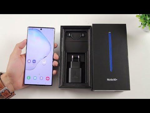 Mở hộp đánh giá Galaxy Note 10 Plus RAM 12GB điện thoại Samsung tốt nhất bây giờ