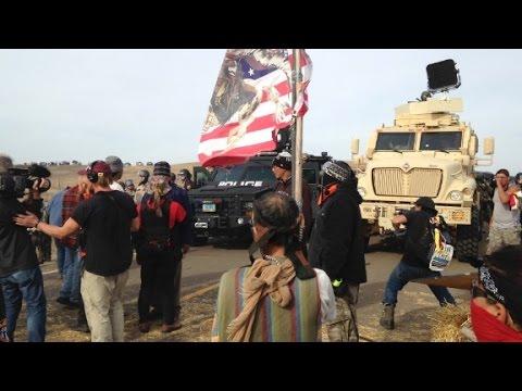 Police remove pipeline protesters