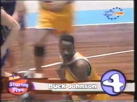 Buck Johnson starring for Maccabi Tel Aviv (Ex-NBA)