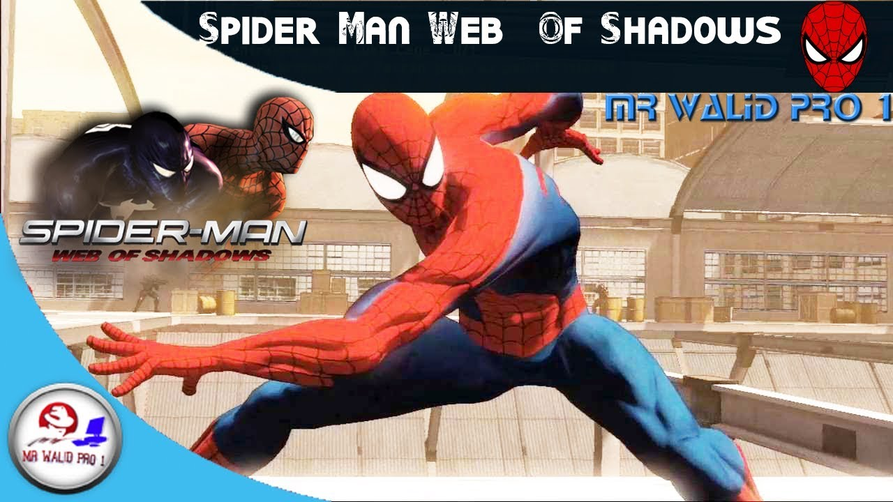 تحميل لعبة spider man web of shadows
