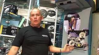 видео Потолочный монитор 10.2