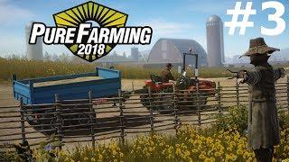Pure Farming 2018 (3) — Obsiewanie i Podlewanie