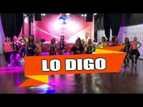 LO DIGO - Carlos Rivera ft. Gente de Zona / ZUMBA con ALBA DURAN
