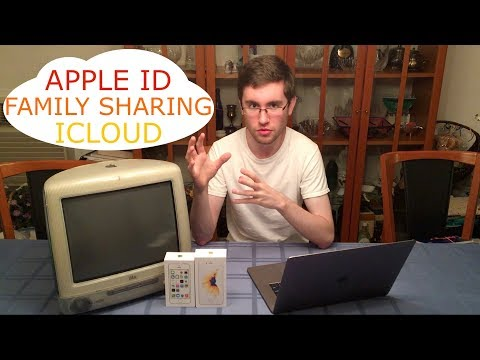 Apple ID, iCloud, & Family Sharing EXPLAINED