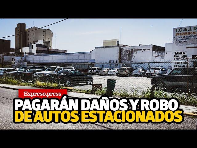 Pagarán daños y robo de autos estacionados