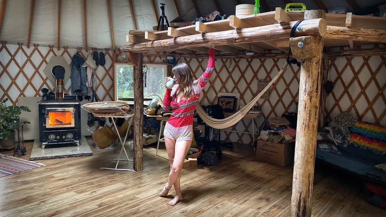 My Morning Routine Living Off Grid in a Yurt