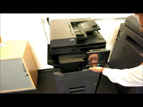 Überblick Kyocera TASKalfa 3252ci - OKM2000 - YouTube