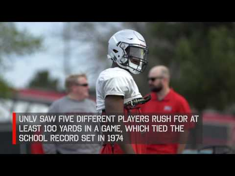 UNLV Football - Running Backs (April 19, 2017)