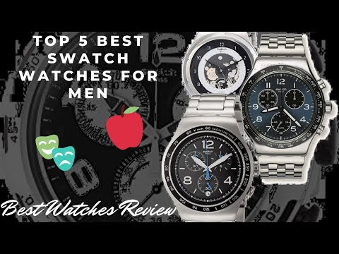 Top 5 Best Swatch Watches For Men - Best Watches Review
