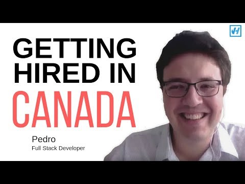 How He Got a JOB IN CANADA 🇨🇦in 1 MONTH??