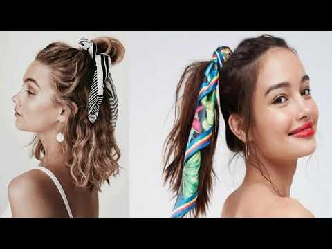 Creativo peinados con pañuelos Galería De Tutoriales De Color De Pelo - peinados con pañuelos y bandanas peinados faciles 2019 ...