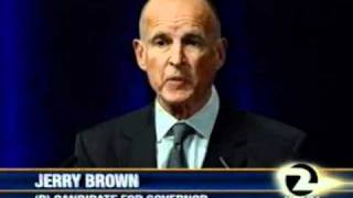 2010 Brown - Whitman 1st Debate - part 1