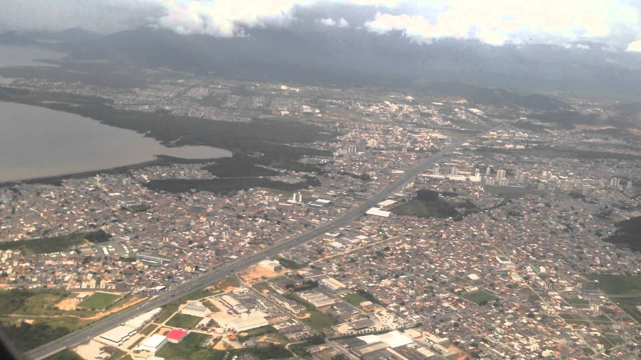 florianopolis approach and landing youtube