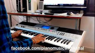 Kitna Pyar Tumhe Karte Hai Piano Keyboard Cover On yamaha PSR I 455 With Indian Style