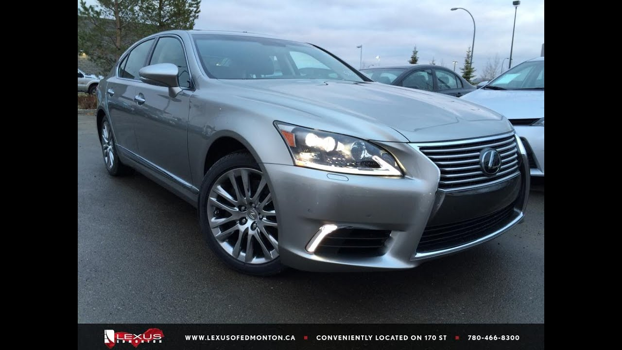 2016 lexus ls 460 awd review youtube. Black Bedroom Furniture Sets. Home Design Ideas
