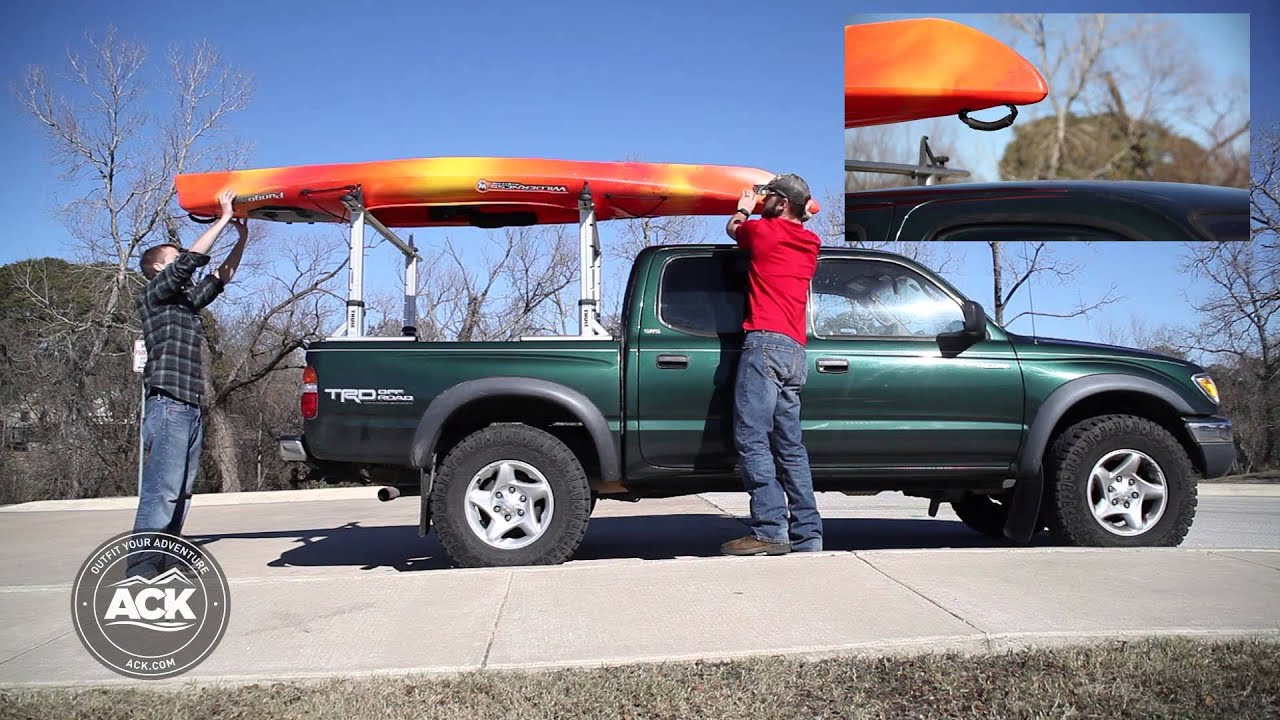 Correct Way To Make A Bed How To Properly Secure A Kayak To A Roof Rack Youtube