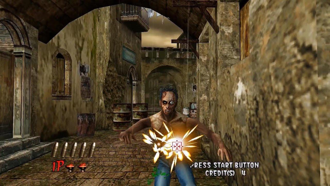 Nulldc Emulator 1 0 4 The House Of The Dead 2 1080p Hd Sega