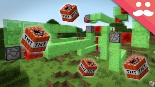 Making Flying Machines and Weapons in Minecraft!