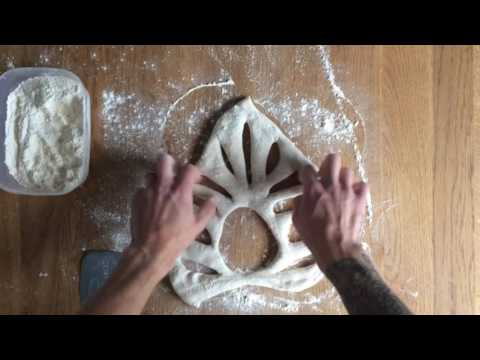 How to Shape a Fougasse - Bread Tip 16 - Bake with Jack