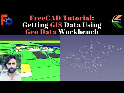 FreeCAD Tutorial: Getting GIS Data Using Geo Data Workbench