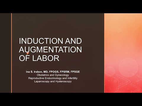 labor induction and augmentation