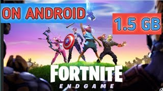 LET,S DOWNLOAD FORTNITE LITE IN ANDROID IN 1.5-GB