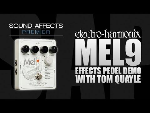 Electro Harmonix MEL9 Tape Replay Machine Effects Pedal Demo