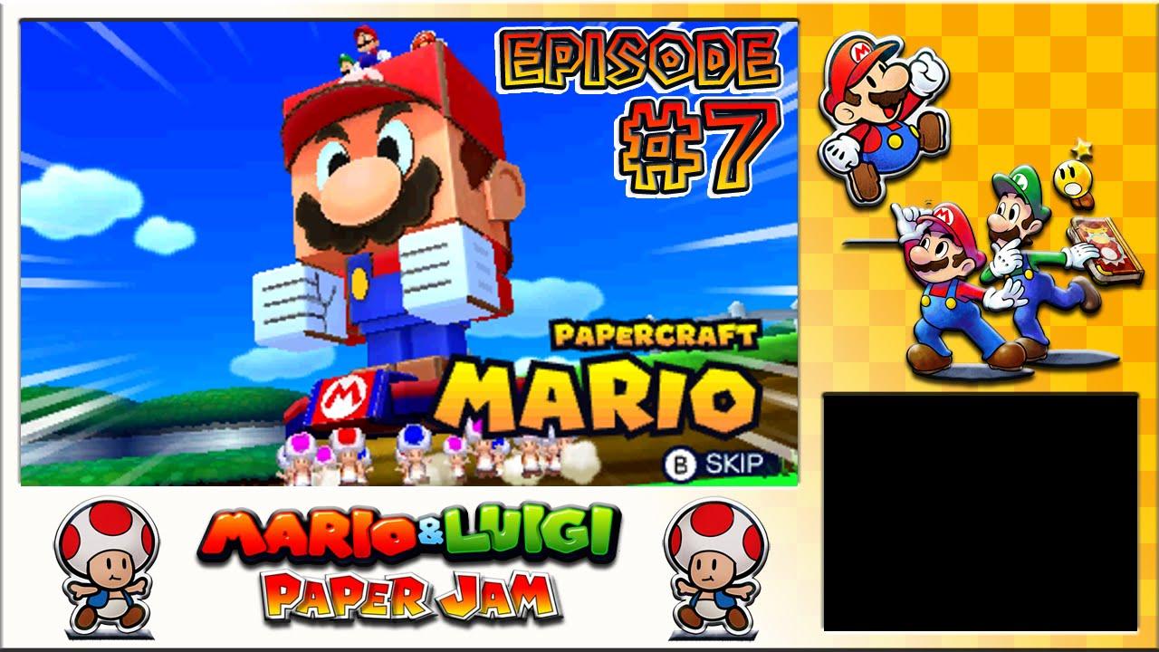 Papercraft Mario & Luigi: Paper Jam - Paper Toad Missions, Papercraft Battle - Episode 7