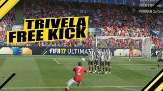 FIFA 17 | TRIVELA FREE KICK | ШТРАФНЫЕ УДАРЫ